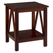 Kanan End Table - Antique Tobacco