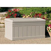 Suncast 129-Gal. Resin Deck Box - Taupe