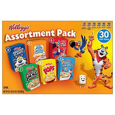 Kellogg's Jumbo Assorted Cereal 30 pk./31.37 oz.
