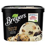 Breyers Original Chocolate Chip Cookie Dough Ice Cream, 64 oz.