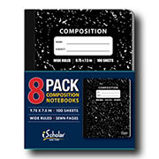 iScholar Composition Notebooks, 8 pk.