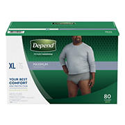 Depend Fit-Flex Extra Large Maximum Absorbency Underwear for Men, 80 ct.