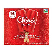 Chloe's Fruit Strawberry Pops, 16 ct./2.5 fl. oz.