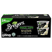 Breyers Natural Vanilla Snack Cups, 24 ct.
