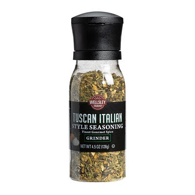 Wellsley Farms Tuscan Italian Seasoning Grinder, 4.5 oz.