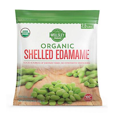 Wellsley Farms Organic Shelled Edamame 2.5 lbs.