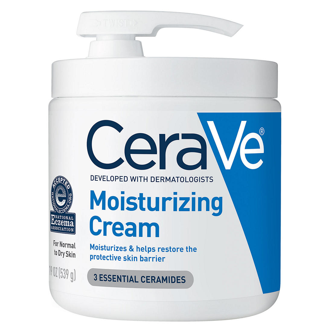photograph relating to Cerave Printable Coupon known as CeraVe Moisturizing Product, 19 oz.