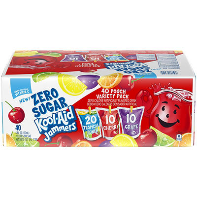 Kool-Aid Zero Sugar Jammers, 40 ct./6 fl. oz.