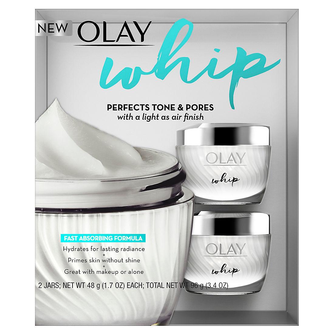 Olay Whip Face Moisturizer, 2 pk /1 7 oz