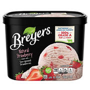 Breyers Original Natural Strawberry Ice Cream, 64 oz.