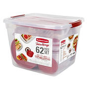Rubbermaid TakeAlongs 60-Pc. Food Container Set Including Lids