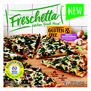 Freschetta Gluten Free Spinach and Mushroom Pizza, 2 pk.