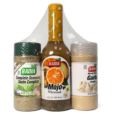 Badia Seasoning Combo Pack, 3 pk.