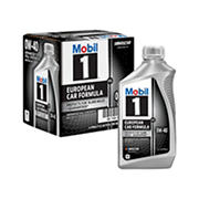 Mobil 1 0W-40 European Car Formula Advanced Full Synthetic Motor Oil, 6 pk./1 qt.