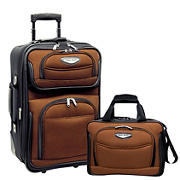 Travel Select Amsterdam 2-Pc. Carry-On Luggage Set - Orange