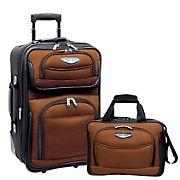 Travel Select Amsterdam 2-Pc. Carry-On Luggage Set - Orange