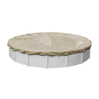 Robelle Premium 18' Aboveground Pool Winter Cover - Tan/Black