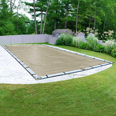 Robelle Premium 30' x 50' Inground Pool Winter Cover - Tan/Black