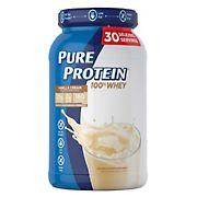Pure Protein Vanilla Cream Protein Powder, 2.58 lbs.