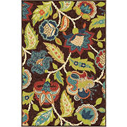 "Orian Rugs 92"" x 130"" Rug - Ethridge Brown"