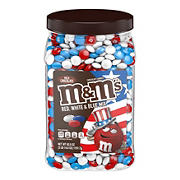 M&M'S Red, White & Blue Patriotic Mix Milk Chocolate Candy, 62 oz.