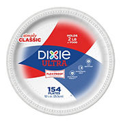 "Dixie Ultra 10"" Paper Plates, 154 ct."
