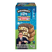 Ben & Jerry's Americone Dream Pint Slices Ice Cream, 9 ct.