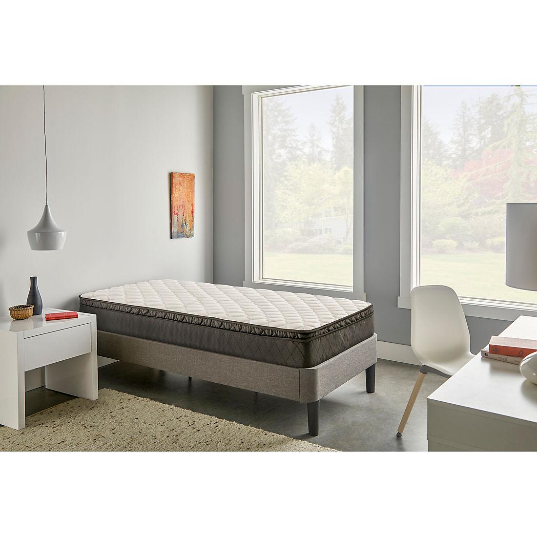 watch 6db1f dc3a0 Berkley Jensen Twin Euro Pillow Top Ultimate Comfort Innerspring Mattress