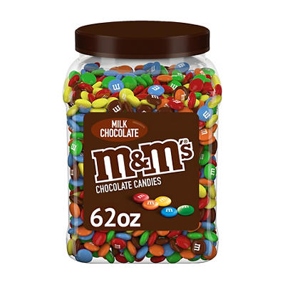 M&M's Pantry Size Milk Chocolate Candy, 62 oz.