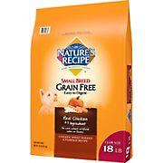 Nature's Recipe Chicken, Sweet Potato, & Pumpkin Small Breed Grain Free Dog Food, 18 lbs.