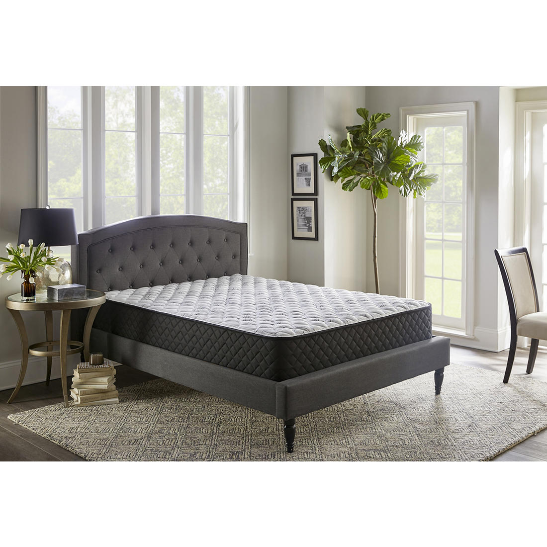 Queen Size Bed.Berkley Jensen Queen Size Firm Support Comfort Select Mattress