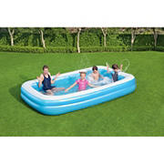 Best Way 10' Inflateable Aboveground Family Pool