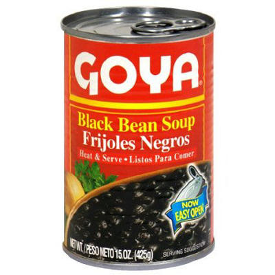 Goya Black Bean Soup, 4 pk./14 oz.