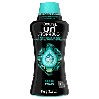 Downy Unstopables Fresh In-Wash Scent Booster Beads, 30.3 oz.