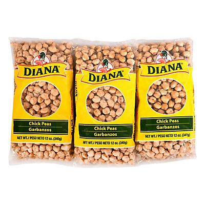 Diana Garbanzos Beans, 6 pk./12 oz.