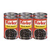 Kirby Black Beans, 6 pk./15 oz.
