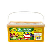 Crayola Ultimate Crayon Bucket, 200 ct.