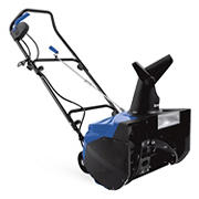 "Snow Joe Ultra 18"" 13.5-Amp Electric Snow Thrower with Light - Blue/Black"