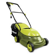 "Sun Joe Mow Joe 14"" 12-Amp Electric Lawn Mower - Green"