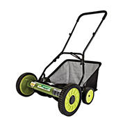 "Sun Joe Mow Joe 18"" Manual Reel Lawn Mower with Catcher"