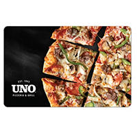 (2-Pack X $25) UNO Pizzeria and Grill Gift Card
