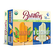 Brothers Organic Fruit Bars Variety Pack, 16 pk./2.75 fl. oz.