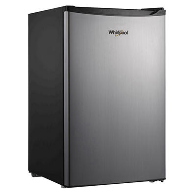 Whirlpool 4.3-Cu.-Ft. Refrigerator - Stainless Steel