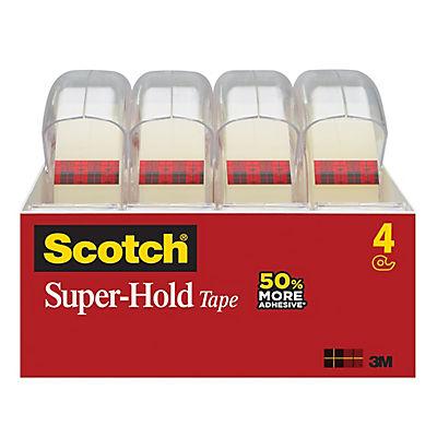 Scotch Super-Hold Tape,4 pk.