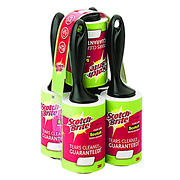 Scotch-Brite 75-Sheet Lint Roller, 5 pk. - Black
