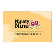 $50 Ninety Nine Restaurant Gift Card