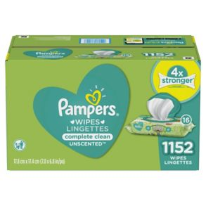 1c076b344ae Pampers Complete Clean Unscented Baby Wipes