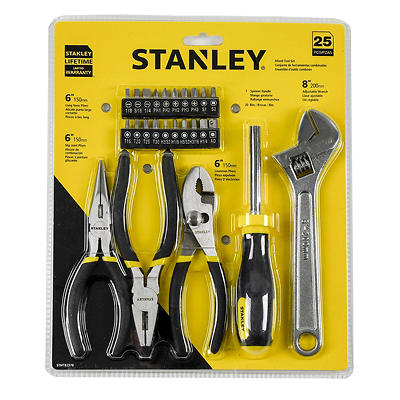 STANLEY 25-Pc. Mixed Tool Set