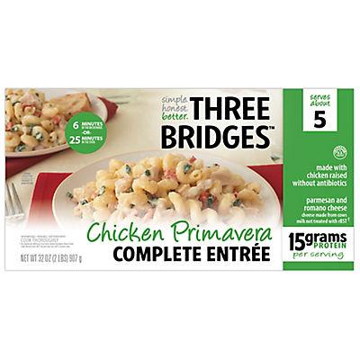 Three Bridges Chicken Primavera Complete Entrée, 32 oz.