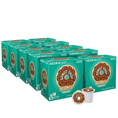 The Original Donut Shop Decaf Medium Roast Coffee Keurig Single-Serve